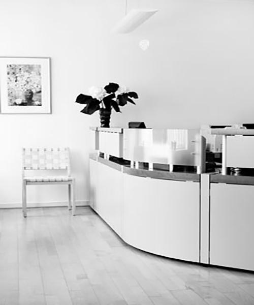 Vores venteværelse i Tandklinik Nørregade: Tandlæge i Maribo, Lolland